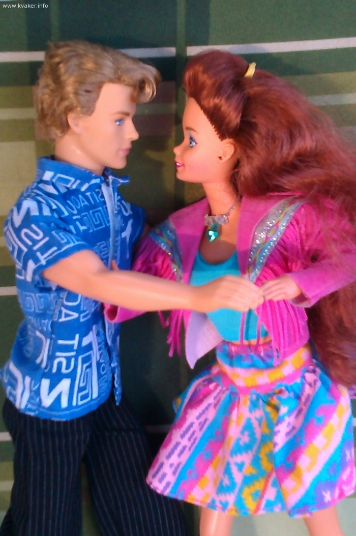Барби и Кэн. Фотосессия.