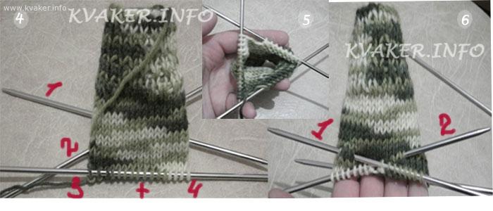 Носки спицами схемы