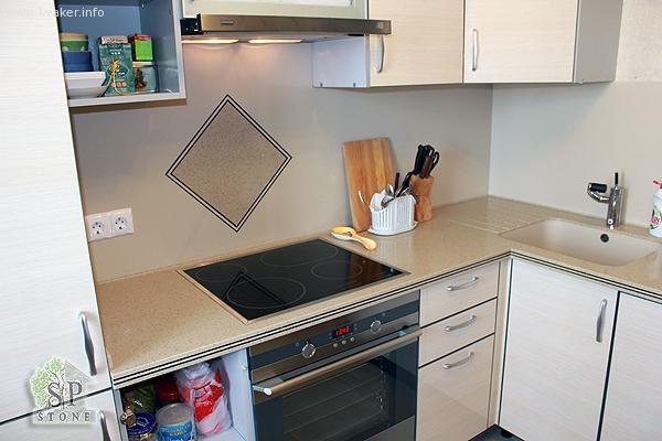Столешницы кухонные из искусственного камня